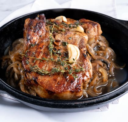 Brown Sugar and Molasses Brined Pork Chops