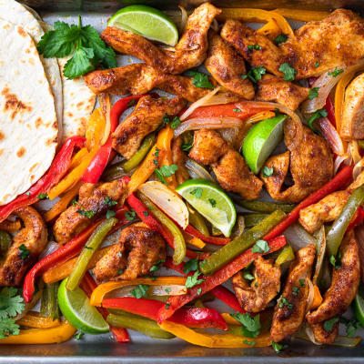 Chicken Fajita Bake