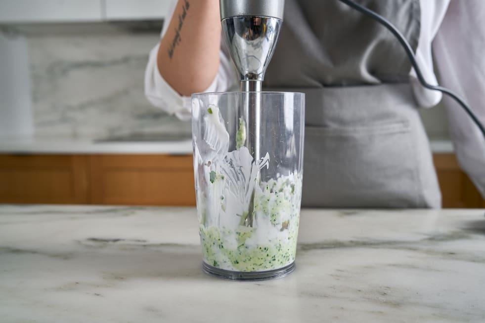Make cilantro crema.