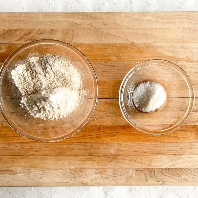 Combine dry ingredients.