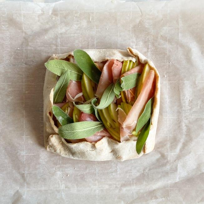 Fold the dough.