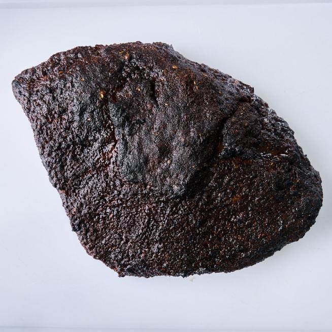 Broil until crust darkens and hardens