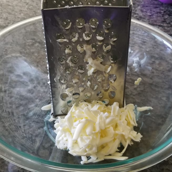 Grate Cold Butter