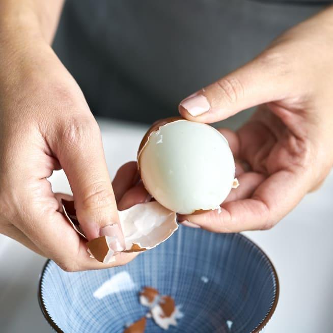 Peel eggs