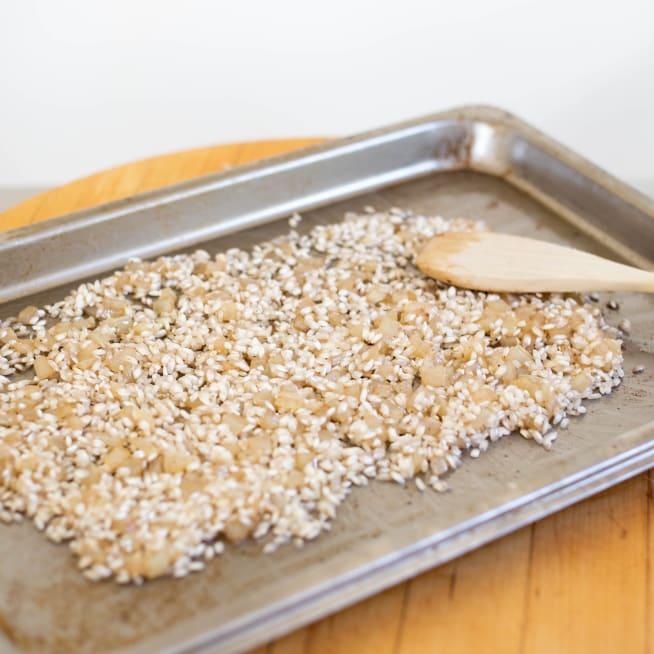 Add rice and season
