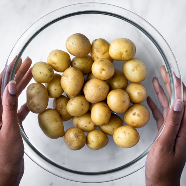 Clean Potatoes