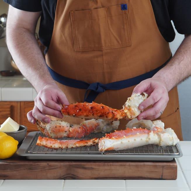 Prepare Crab Legs
