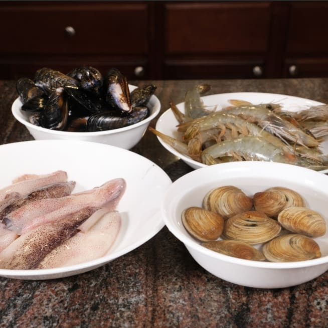 Prep Seafood.