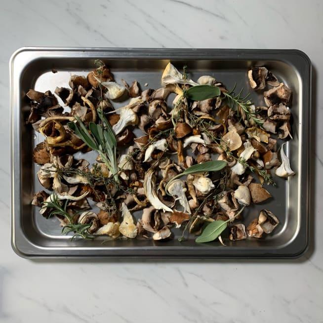 Prep Mushrooms