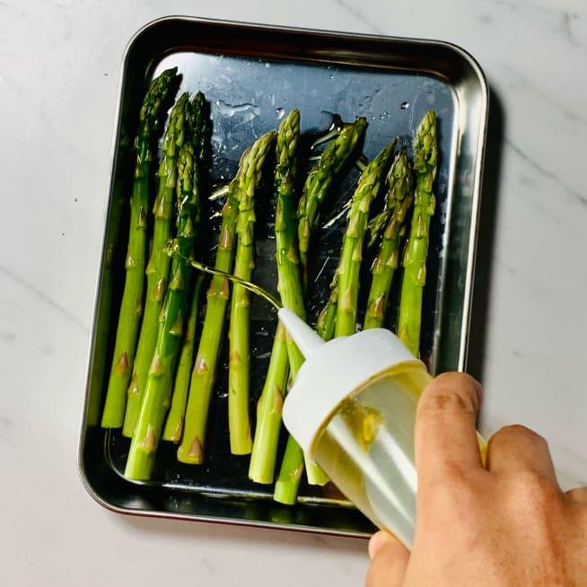 Season asparagus
