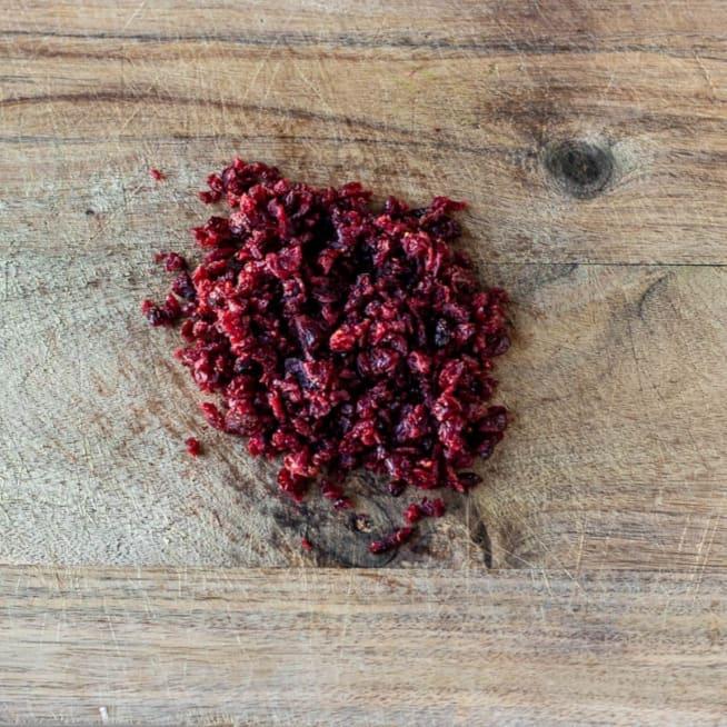 Chop Cranberries