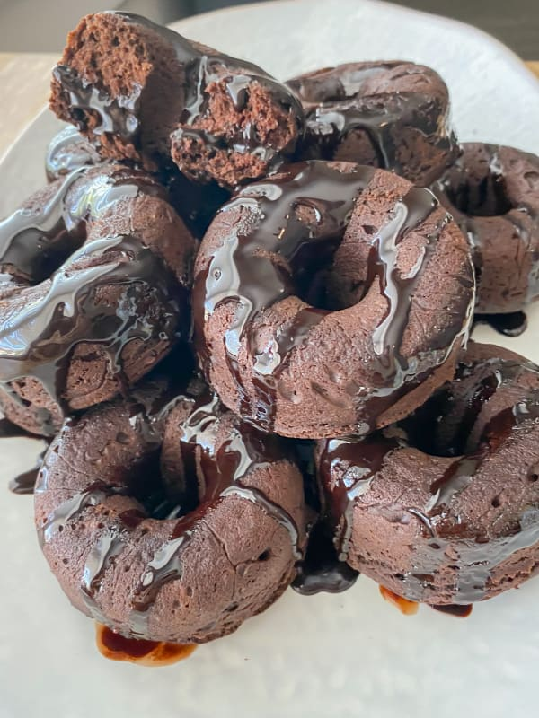 Vegan Chocolate Donuts