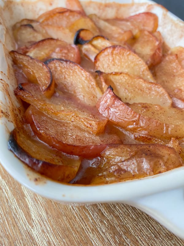 Baked Cinnamon & Maple Apples