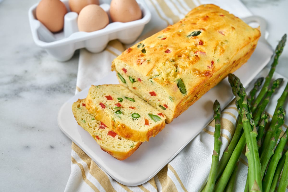 Vegetarian Egg Loaf