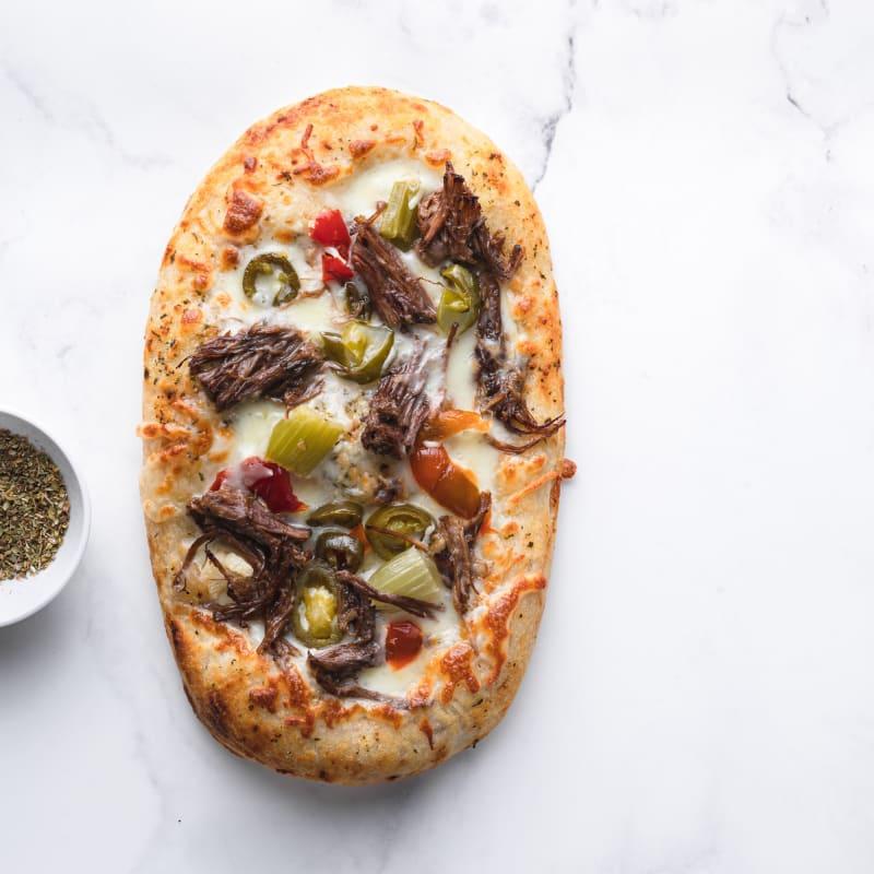 Chicago Italian Beef Flatbread