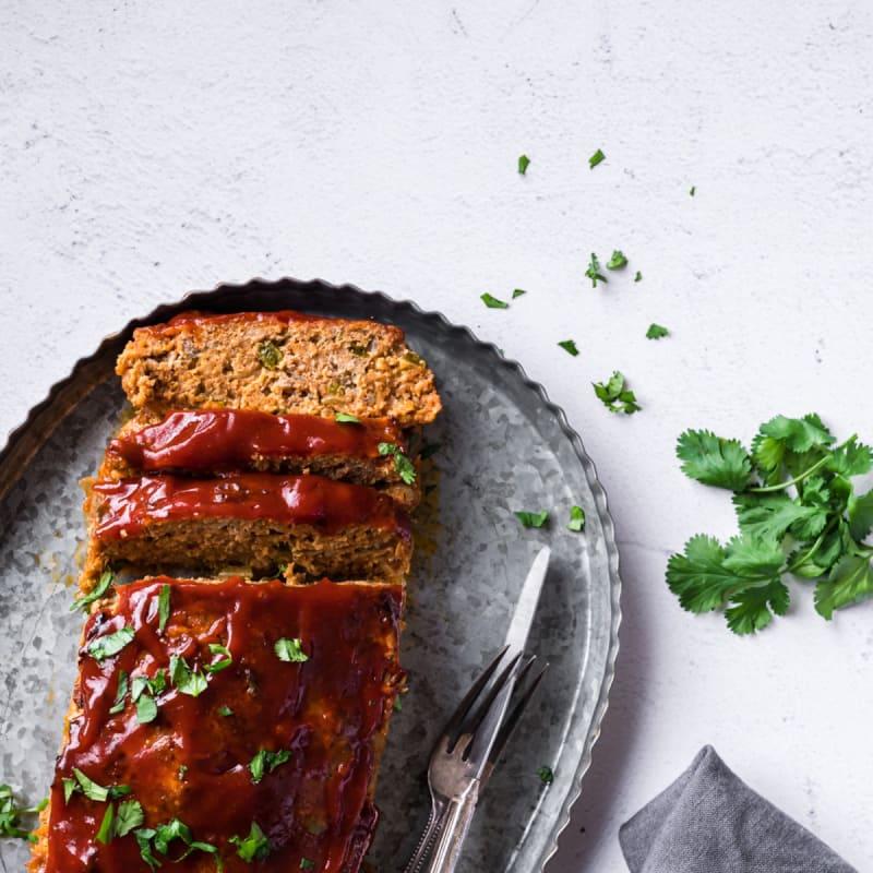 Spanish Turkey Meatloaf