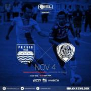 Semifinal ISL 2014 | Persib vs Arema | Selasa , 4 November 2014 | Std. Jakabaring Palembang | K.O 20.00 Wib | Live RCTI