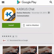 Congrats @Kaskus on new product launch Kaskus Chat
