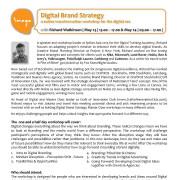 [Ad] Digital Brand Strategy - creative transformation workshop for the digital era | with Richard Watkinson | May 23 - 24 | www.theimago.com