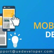 Develop Your Image In IT World With Mobile App Development. The best service is provided by UE Developer. To Know More:- http://bit.ly/2gGVGVi