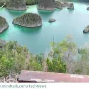 Pemandangan wisata alam Raja Ampat