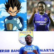 "Welcome to Persib Michael ""Vegeta"" Essien. Suka Dragon Ball? Mainkan di > http://bit.ly/PlayNow-DBI"