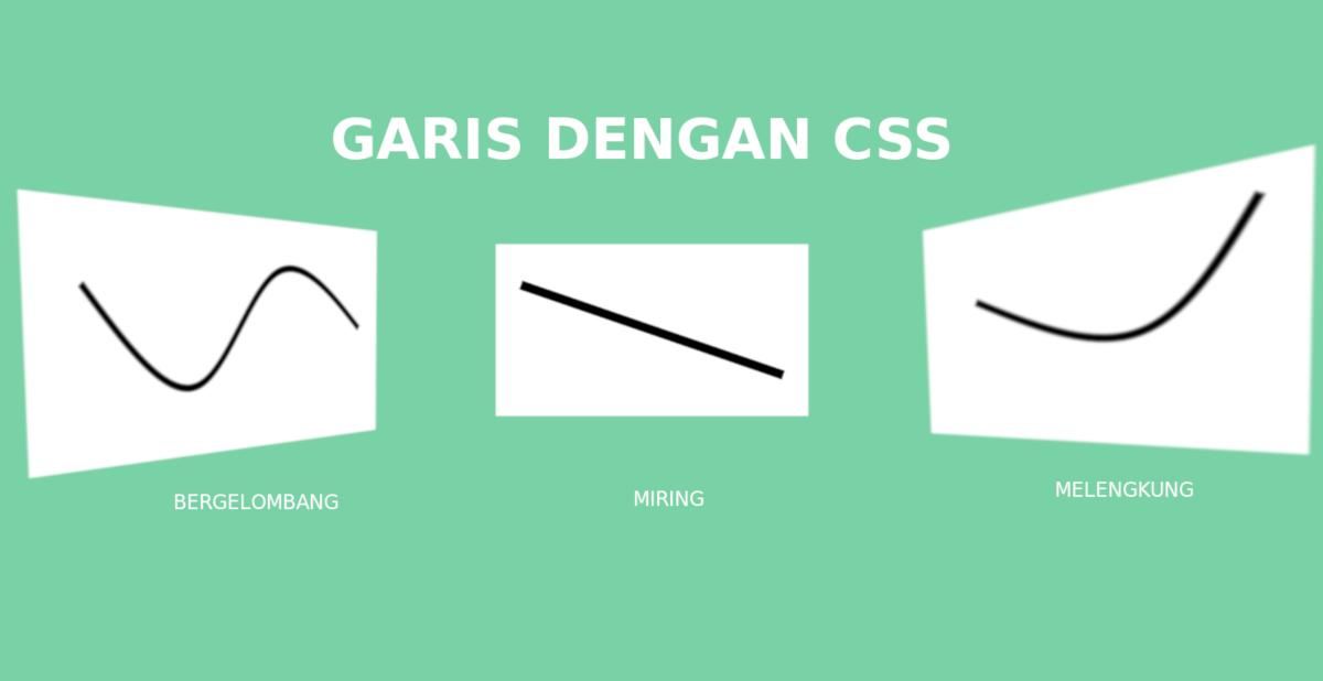 Garis CSS