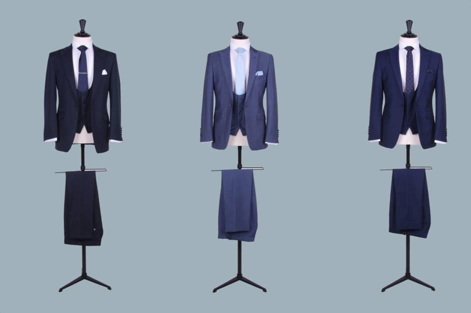 Slim fit suit hire
