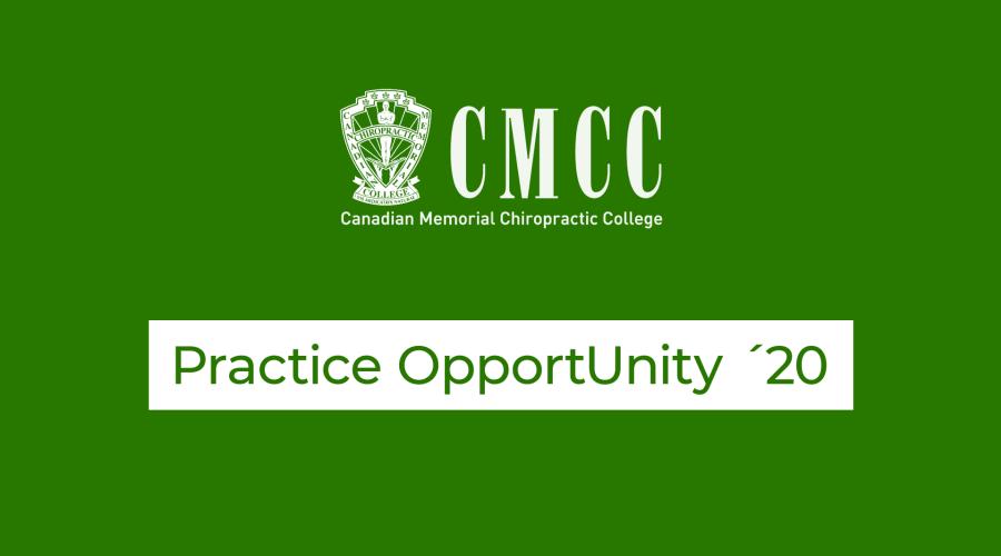 practice opportunity canadian memorial chiropractic college