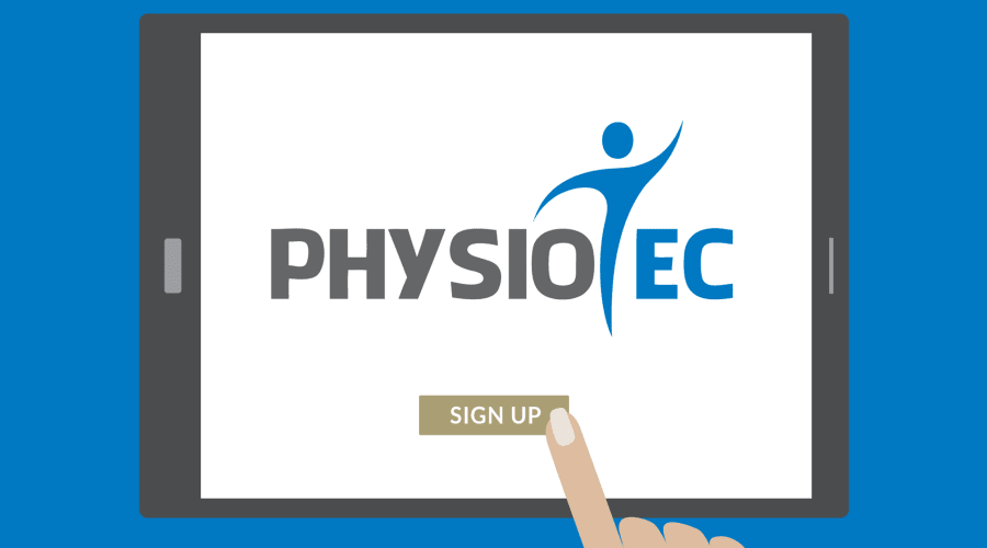 physiotec home exercise program software
