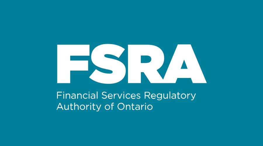 fsra financial services regulatory authority of ontario