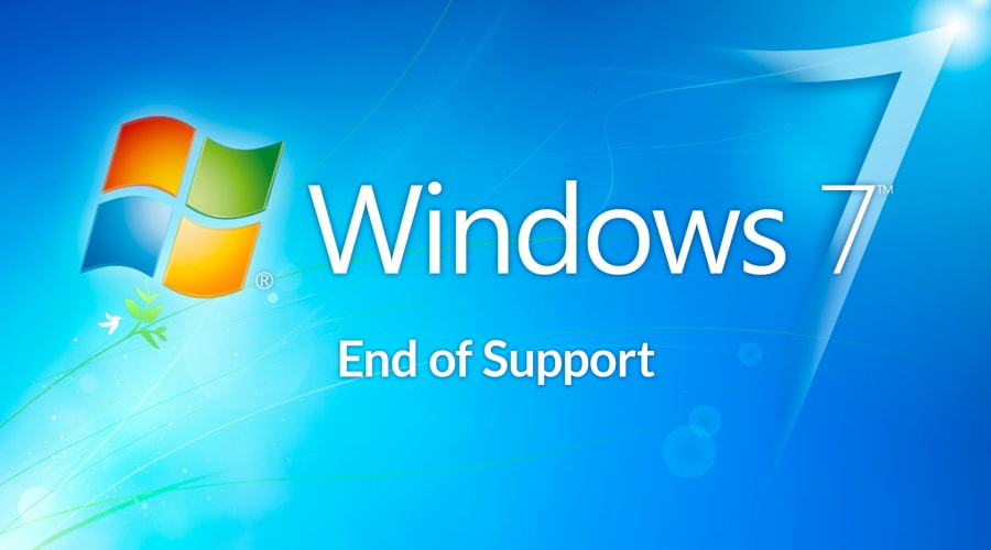 end of windows 7 support
