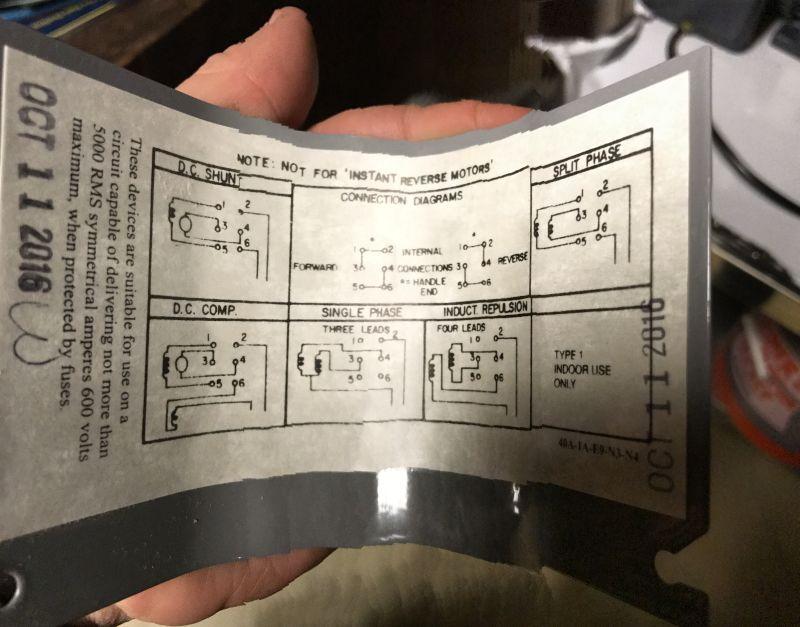 Drum Reversing Switch Wiring Diagram - Wiring Diagrams Dock on