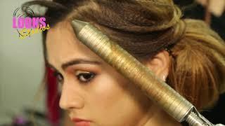Beautiful Hairstyle | Step by Step Hair Style | आसान हेयरस्टाईल | Simple Hairstyle | Looks Studio
