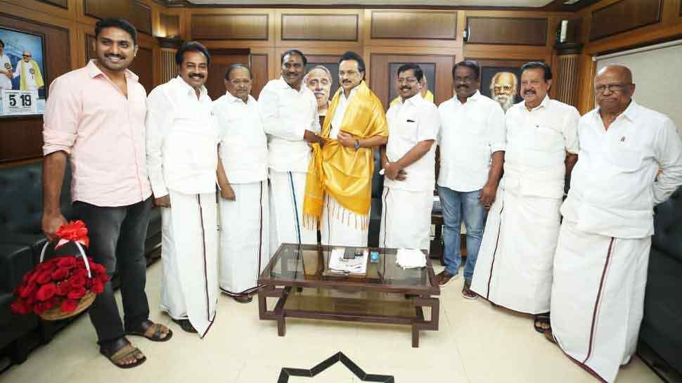 Tamil Nadu BJP Vice President Hails Stalin, Joins DMK