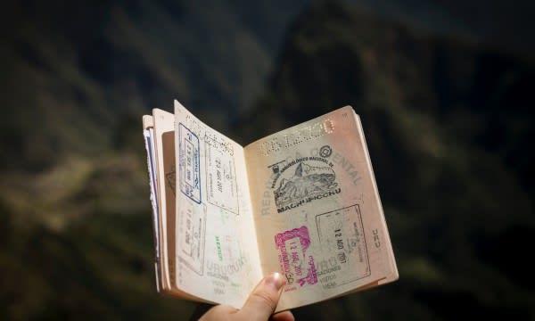 Fotografie cestovního víza