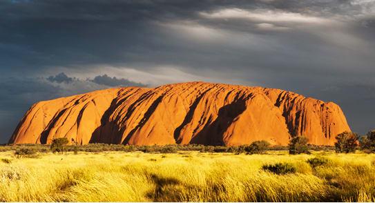 Fotka Australské krajiny