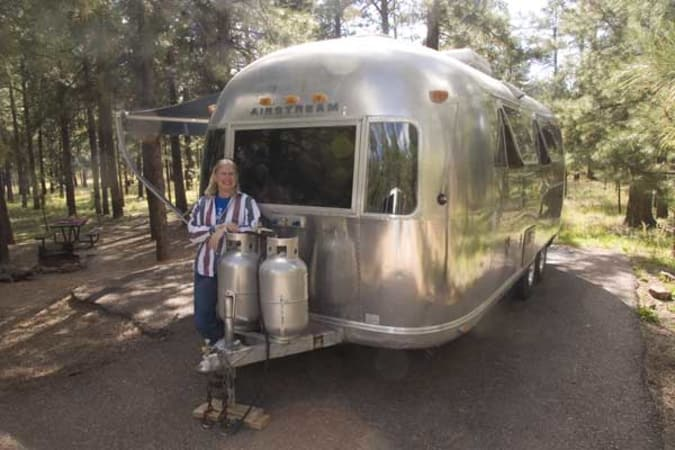 1973 Airstream Safari 23' in Phoenix, AZ : Front of the Safari