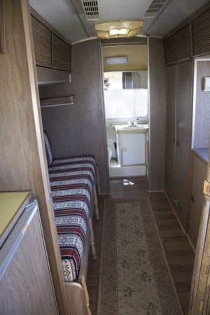 1973 Airstream Safari 23' in Phoenix, AZ : Looking Aft