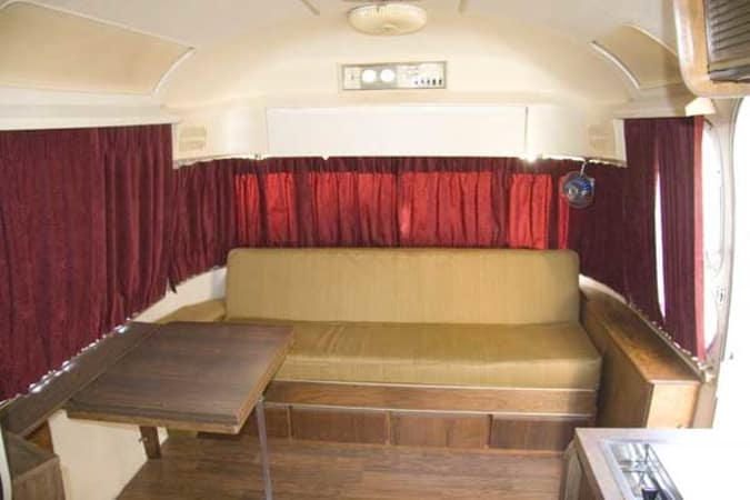 1970 Airstream Overlander 27' in Phoenix, AZ : Inside Looking Towards the Front
