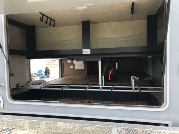 2015 Open Range Roamer 40' in Hutto, TX : Roamer Rear Cargo