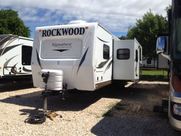 2012 Forest River Rockwood 1 18' in Hutto, TX : Rockwood 1