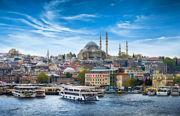 Istanbul Two Continents Picture