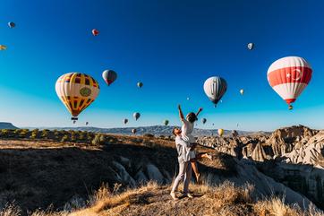 Cappadocia Hot Air Balloon Ride Picture