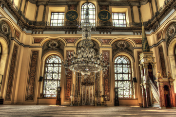 Istanbul Dolmabahce Palace Picture