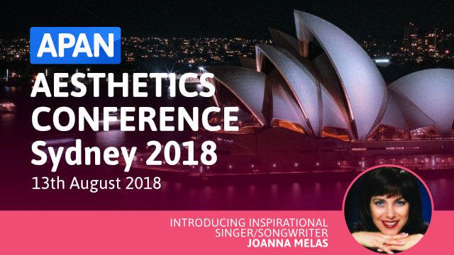 APAN Aesthetics Conference Sydney