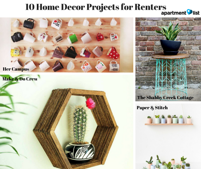 DIY Apartment Decorations You Can Build In A Weekend For Under 48 Amazing Apartment Diy Decor