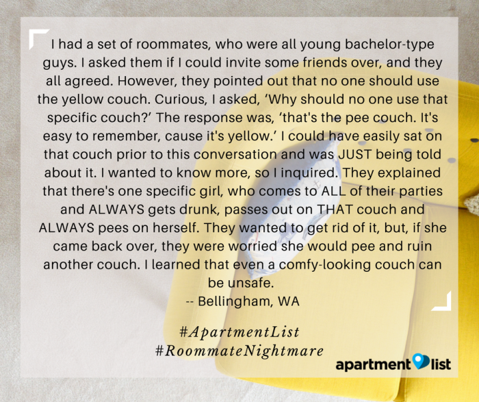 Your Worst Roommate Horror Stories