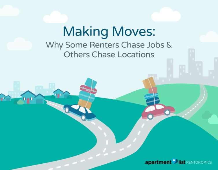 making moves why some renters chase jobs others chase locations