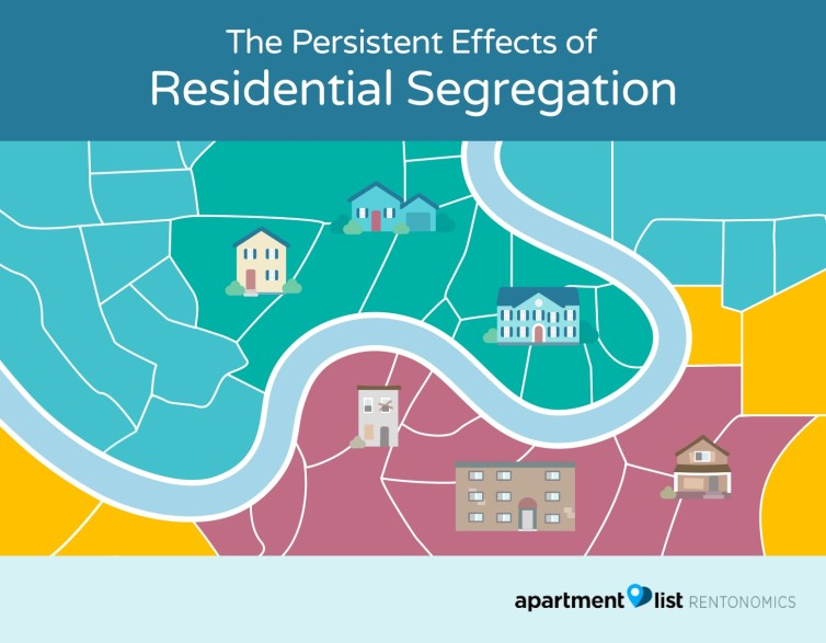 causes of residential segregation
